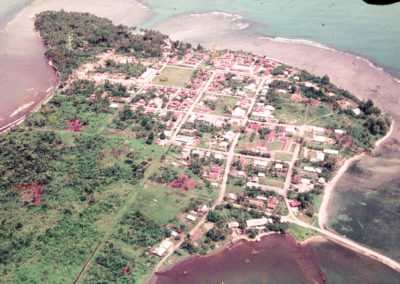 Aerial view of Sarmi