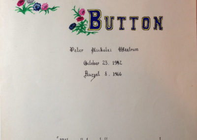 Bachelor's Button Cover Page