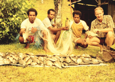 Berik helpers love the Tilapia fish
