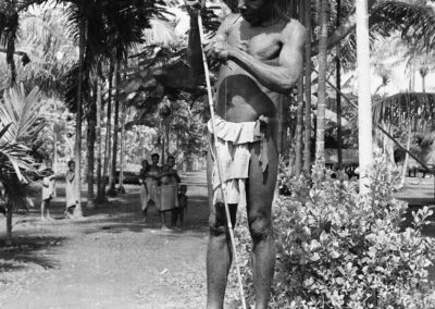 Berik man with his spear