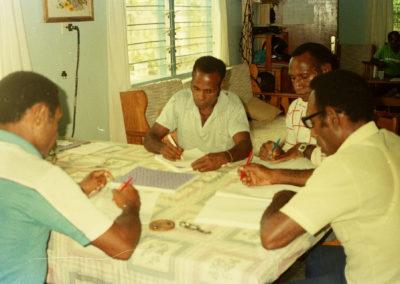Berik tutors working on final checks