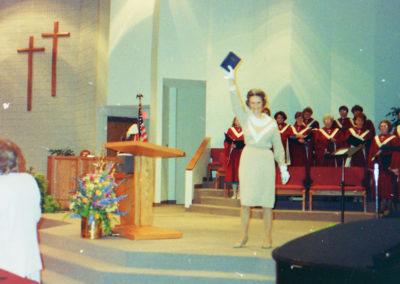Celebrating at Meadow Creek Church