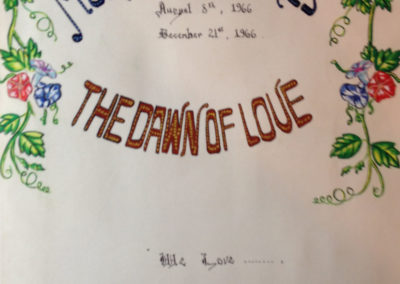 Dawn of Love cover page