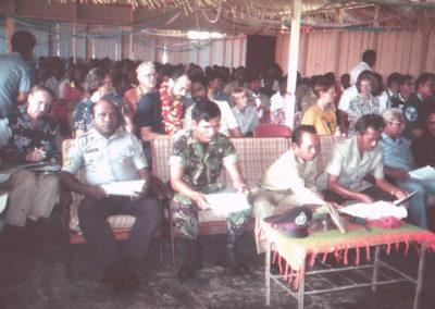 Guests visitng from Jayapura