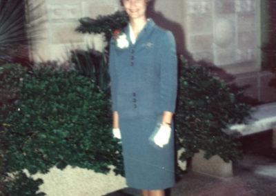 Sue - stewardess with Pan Am