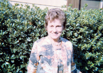 Sue's mother, Lucille