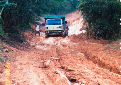 Survey was a challenge in Kalimantan