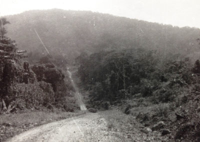 The road to Mile 86